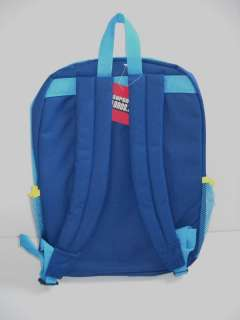 SUPER MARIO Bros. Wii Blue BACKPACK New NWT