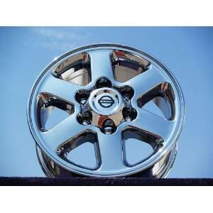 frontier Set of 4 genuine factory 16inch chrome wheels Automotive