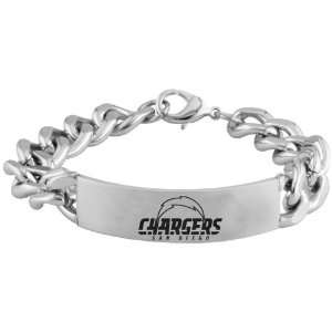 NFL San Diego Chargers Stainless Steel Sports Link ID