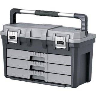 Glide 60500024 Portable Steel 2 Drawer Tool Box