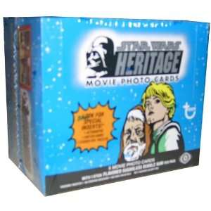 Star Wars Heritage Trading Card Box by Topps Toys & Games