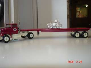 WINROSS 1/64 ANTIQUE AUTO CLUB OF AMERICA TRACTOR TRAILER 1992 TRUCK