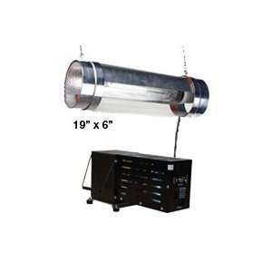 600 Watt HPS 19 Air Cooled Cylinder Grow Light System