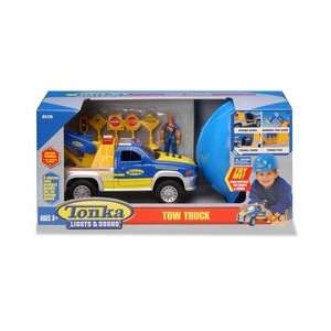 Tonka Lights and Sounds Tow Truck Toys & Games