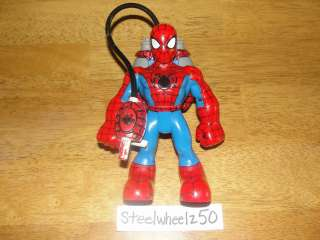 Spiderman & Friends Spiderman Action Figure w/ Backpack 2004 Marvel