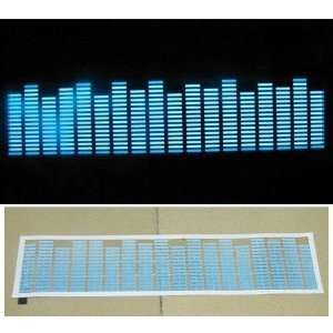Koolertron 45x11cm Sound music Activated Car Stickers with Equalizer