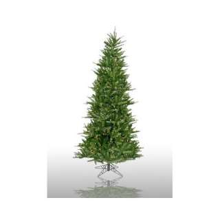 Prelit Slim Tiffany Spruce Artificial Christmas Tree Christmas Decor