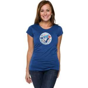 Toronto Blue Jays Womens Primary Logo Fashion Cap Sleeve