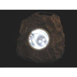 Solar Rock Light 3 Led Tall Spotlight for Home and Garden