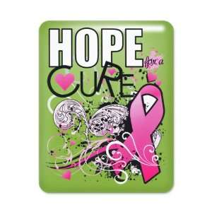 iPad Case Key Lime Cancer Hope for a Cure   Pink Ribbon