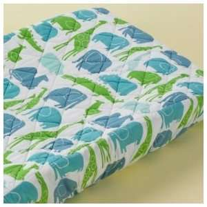 Baby Changing Pad Cover Baby Light Blue Zoo Pad Cover Baby