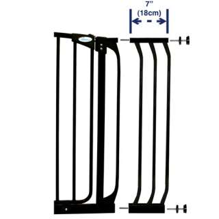 Dream Baby   7.0 Gate Extension, Black