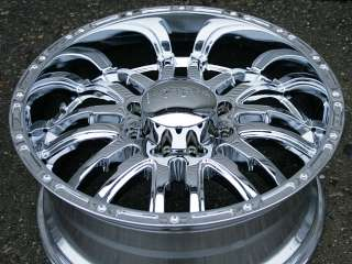 INCUBUS SUPERNATURAL 20 CHROME RIMS WHEELS HUMMER
