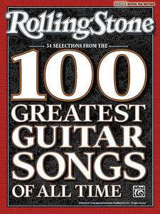 Rolling Stones 100 Greatest Guitar Songs   Tab Book