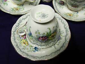 Royal Albert. China Dinnerware Gem. Cup and saucer