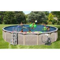 Sun N Fun Galaxy View Above Ground Round Pool Package   30 x 52