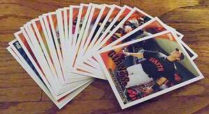 2010 Topps Team Set San Francisco Giants WS CHAMPS