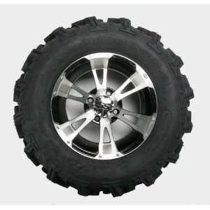 ITP Mud Lite XTR, SS112, Tire/Wheel Kit   27x11Rx14   Machined 42465L