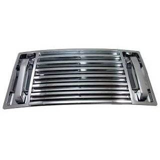 Hummer H2 Accessories   Chrome Hood Vent Deck Panel   2003, 2004, 2005
