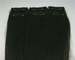 Color Remy 206Pcs 100% Real Human Hair Clip In Extensions,30g&12 Wide