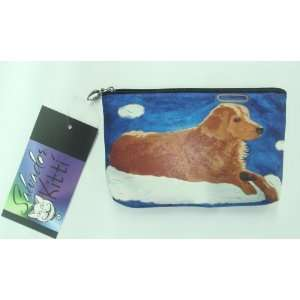Golden Retriever Dog Angel Cosmetic Bag or Pencil Bag