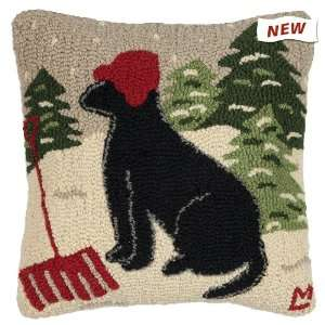 Chandler 4Corners Winter Snow Shovel Black Labrador Retriever Dog 16