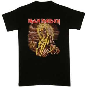 Iron Maiden   New Killers T shirts