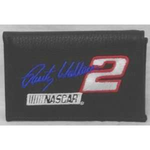 NASCAR RUSTY WALLACE #2 LEATHER TEAM LOGO WALLET  Sports