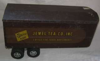 vintage jewel tea pottery truck trailer tonka toy