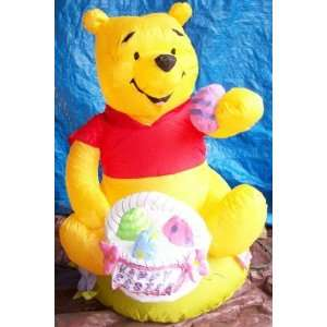 4ft Gemmy Airblown Inflatable Disney LIGHTED Pooh
