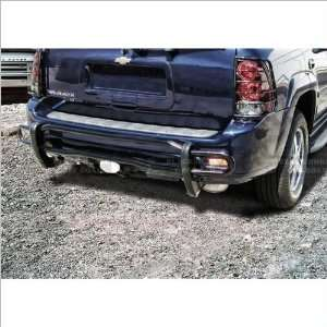Black Horse Black Rear Bumper Guard 07 09 Chevrolet