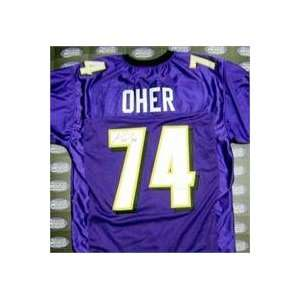 Michael Oher autographed football jersey (Baltimore Ravens)