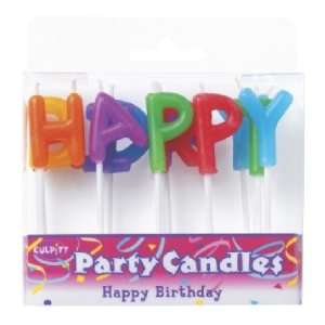 Happy Birthday   Letters Party Candles Toys & Games