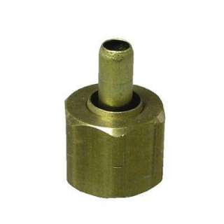 Watts 3/8 in. Brass Compression Nut with Insert A 104 at The Home