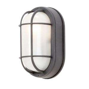 Hampton Bay Wall Mount Outdoor Oval Bulkhead Light HB8822P 05 at The