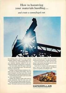 1967 Caterpillar Tractor Co   Cat 922 Wheel Loader   Ad