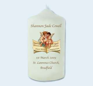 Personalised Ist Holy Communion/Confirmation Candle E17