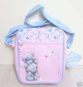ME TO YOU BUTTERFLIES MAKE UP BAG TATTY TEDDY BEAR