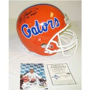 Steve Spurrier Autographed Gators Replica Helmet  Sports