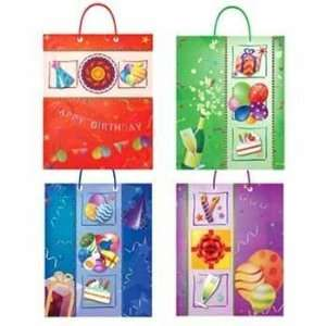 XL Happy Birthday Bag 4 Assorted Case Pack 120 Everything