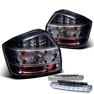 02 05 Audi A4 S4 LED Tail Lights + LED Bumper Fog Lights Brand New