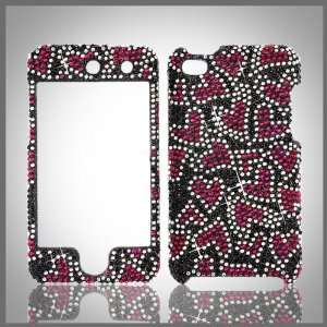 crystal bling rhinestone diamond case cover for Apple iPod Touch 4 4G