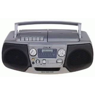 Sony CFDV17 CD/Radio Cassette Recorder (Silver) Explore