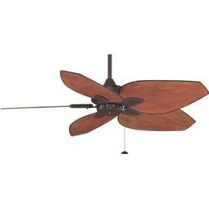 Fanimation Windpointe 52 Five Blade Ceiling Fan Rust Finish With