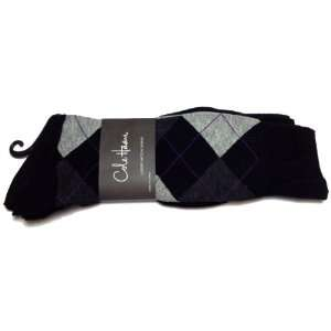 Cole Haan Luxury Modal Blend Mens Dress Socks 3 Pack Black 1755060