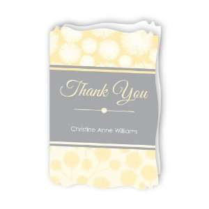 Dancing Garden   Personalized Bridal Shower Thank You Cards