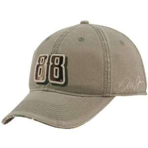 #88 Dale Earnhardt Jr. Military Green Adjustable Hat