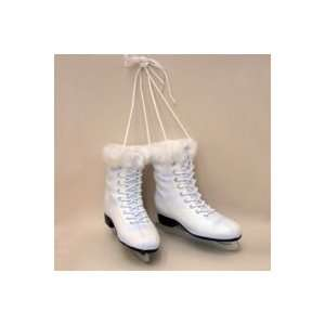 of Womens Ice Skates Christmas Ornament by Gordon