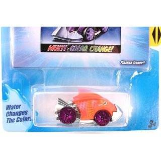 Hot Wheels Color Shifters Creatures,PIRANHA TERROR Colors Vary Color