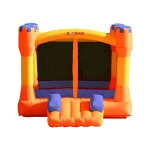 Inflatable Bounce House Bouncer Orange Purple Castle Toys